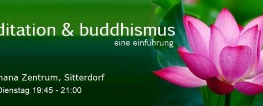 Meditation & Buddhismus